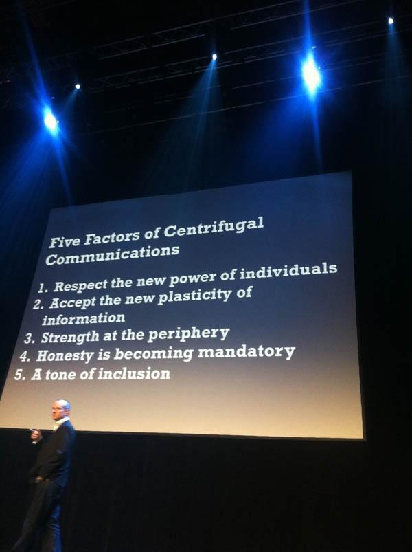 Speaking in Oslo in 2011