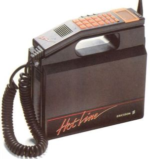 first car phone