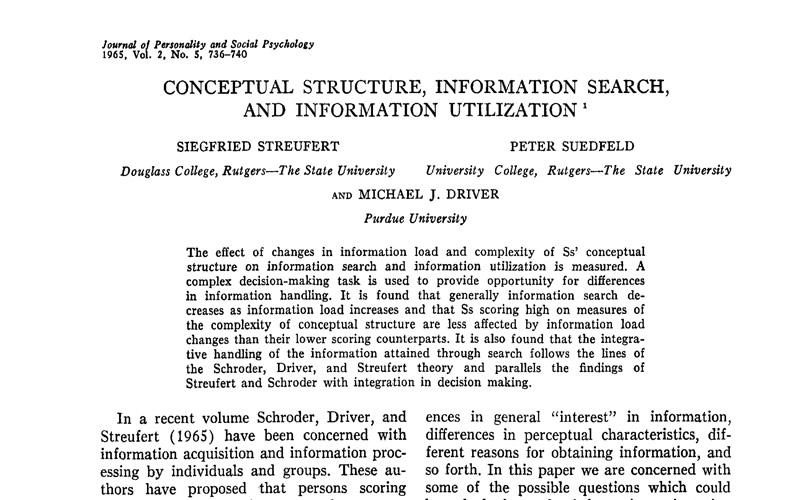 1956 study